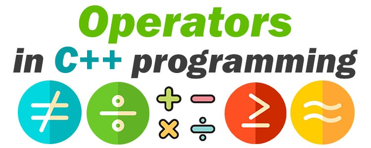 operators in c++programming