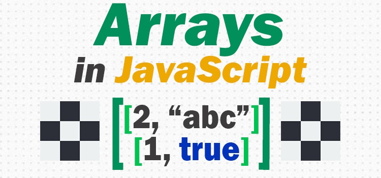 arrays in javascript - featured image